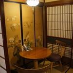 茶房 布久庵 - 隣のテーブルも空きました