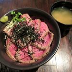 G's Kitchen - 和風ステーキ丼(2015/02/27撮影)