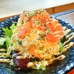 酒と肴の たか木 - ポテトサラダ!