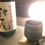 SAKEBAR円覚 - かめ壺焼酎 村尾  芋のしっかりとした芳醇な香りと、米こうじの優しい呑み心地を感じる一杯。