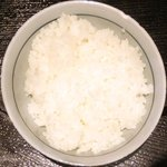 ぽん輔 - 鳥取県産大山鶏カツ定食(ムネ肉) 500円 のご飯