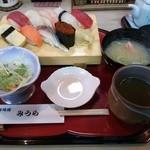 寿司処みうら - にぎりランチ