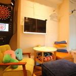 One Smile+ - 家のリビングにいるかのようなアットホームな空間