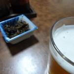 中西食堂 - この佃煮があればビールは何本でも