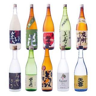 恵まれた自然から生み出された信州の地酒をお楽しみください。