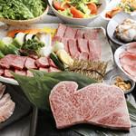 胡椒亭 - 料理写真:黒毛和牛を思う存分楽しむなら、極セットがおすすめ