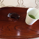 サントノーレ - 塩竈deひなめぐり・羊羹とお茶(サービス)