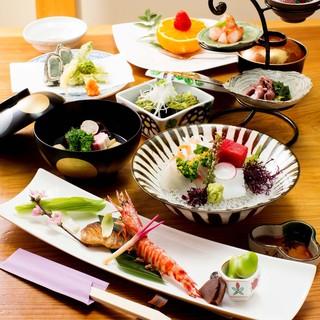季節にこだわり、食材にこだわる店主がご提供する日本料理
