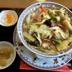 中国料理 輝楽飯店 - 刀削麺(醤油)