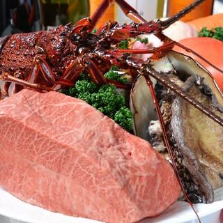 ◆旬の無農薬有機野菜、熟成魚、銘柄肉等、安全で美味しい素材。