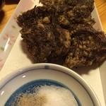 魚・旬菜小料理ととや - もずくの天ぷら