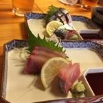 魚・旬菜小料理ととや - オリーブはまち サバの刺身