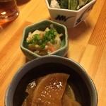 魚・旬菜小料理ととや - きんぴら大根 てっぱい まんばのけんちゃん