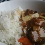 カントニーズレストラン ボン - 牛バラ肉のあんかけご飯