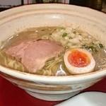 35454797 - 煮干し麺+替え玉