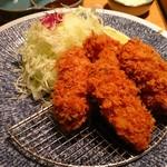 いなば和幸 - 料理写真:広島産牡蠣のフライ