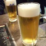 中華料理 成都 - 生ビール