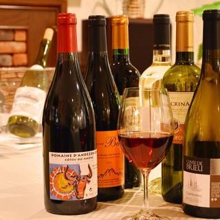 ◆コスパに自信あり‼グラスワインも多数ご用意。