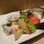 ピッツァ サン フェリーチェ - ☆前菜盛り合わせ