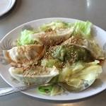 三栄飯店 - サラダ風餃子