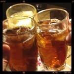 牛ざんまい - 黒烏龍茶で乾杯✨(๑`・ᴗ・´๑)