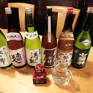 岩手の地酒、地ビール、米焼酎、県産ワインを取り扱っております