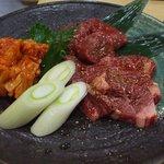 錦山閣 - 一押しの「上肉盛り合わせ」