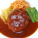 芳味亭 - ハンバーグステーキ