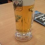かっぱ寿司 - ドリンク写真:生ビール(378円)