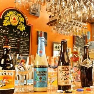 ベルギービール常時30種類