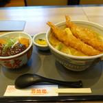 35461692 - カレーうどん×ミニ・みそカツ丼のセット☆