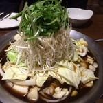 やみつき - 鉄板鍋(海鮮)
