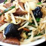 toukamura - レバニラ炒めです