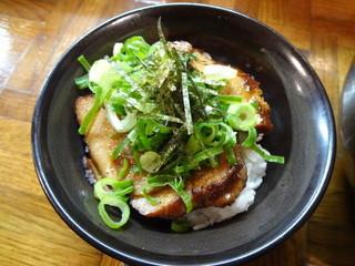 秀ちゃんラーメン - 豚とろ炙り丼(\300)