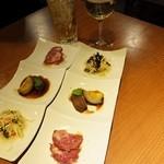 Haruka - 旬の前菜三種盛り