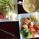 たくし屋 - ランチ(スープ・サラダ・などなど)