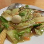 ケイジャン中華ケイズ - 料理写真:八宝菜。具沢山