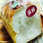 小麦の郷 - 料理写真:湯種食パン1斤 ¥268