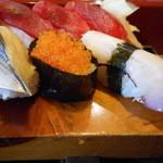 満寿鮨 - こはだ、酢の塩梅が良かった