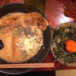 豚烏 - 料理写真:この麺、大好き‼︎  漬丼も美味し‼︎ 2014年4月5日の写真