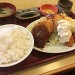 どんじゅう - どんじゅう定食(770円)