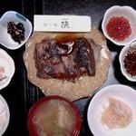居酒屋漁 - ランチ カレイ煮付