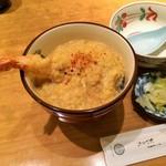 京うどん 生蕎麦 岡北 - 天とじ丼(ミニ)
