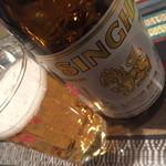 サバイタイタイ - 仲見世ハシゴしナイト(1品と1杯で750円相当)の『シンハービール』2015年2月