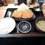 のもと家 - 2015/2 ランチロースカツ定食900円