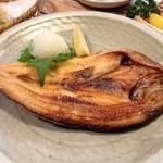 35474767 - 本日の焼き魚 ホッケ