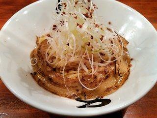 永斗麺 紙屋町本店 - あぶら麺(680円)