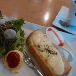 CAFE Suginoki - ハニーチーズトーストモーニング
