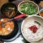 35475956 - ランチ テンジャンチゲ定食