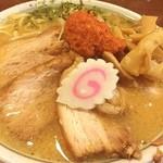 ちゃーしゅうや武蔵 - 料理写真:からし味噌ちゃーしゅうめん(辛味多め) 920円
